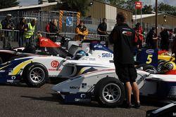 Formula Two cars await morning qualifying