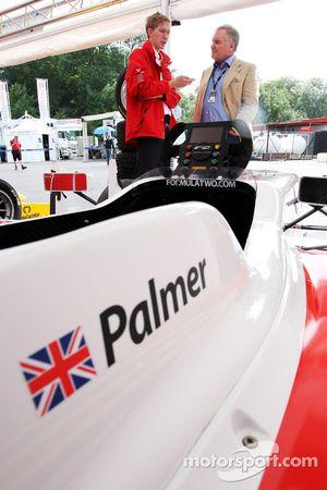 Sam Tremayne, Motorsport Vision, talks to Patrick Head, Formula Two Car Designer