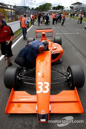 Philipp Eng, on The grid for race 1