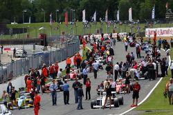 The race 1 grid