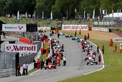 Saturday pre-race 1