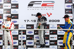Race 1 podium and results: 1st Philipp Eng, 2nd Andy Soucek, 3rd Henry Surtees