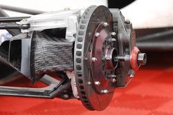 Formula Two wheel and brake detail