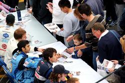 The Formula Two autograph session