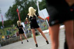 Formula Two grid girl