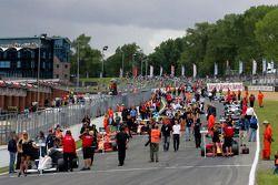 The race 2 grid
