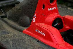 The car of Milos Pavlovic