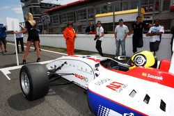 Andy Soucek started race 2 from pole position