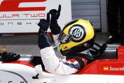 Race 2 winner Andy Soucek