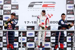 Race 2 podium and results: 1st Andy Soucek, 2nd Robert Wickens, 3rd Mikhail Aleshin