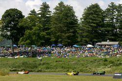 Jonathan Summerton, Newman Wachs Racing, Tonis Kasemets, Polestar Motor Racing and Richard Zober, Polestar Motor Racing