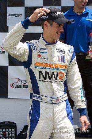 Podium: hard charger of the race award to John Edwards, Newman Wachs Racing