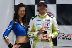 Podium: third place Borja Garcia, Condor Motorsports