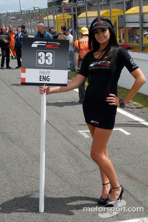Philipp Eng's grid girl