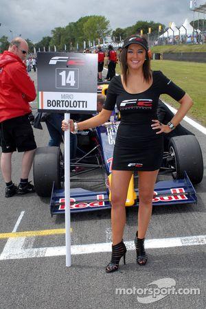 Mirko Bortolotti's grid girl