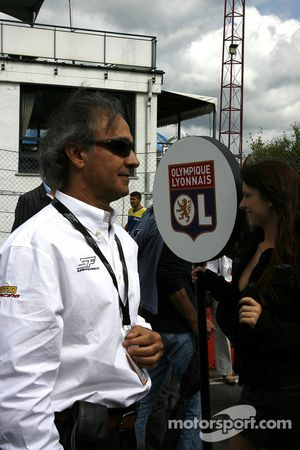Alex Andreu, President of the Superleague Formula series