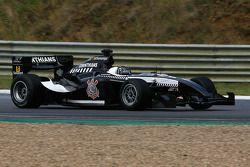 The leading car; #14 Corinthians ADR2: Antonio Pizzonia