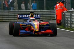 After pit stop; #10 FC Basel GU Racing: Max Wissel