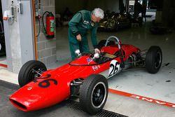 Michel Wanty's Lotus 27 Junior, 1963, 1100cc