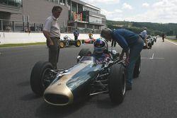 #64 Jon Fairley (GB) Brabham BT11, 1965, 2700cc; a car prepared for the Tasman series