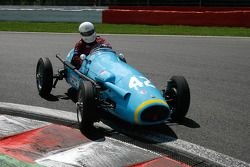 #42 James Willis (GB) South African built Pierce MG F2 Special, 1951, 1500cc