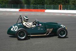Steve Russel (GB) Cooper Bristol Mk II, 1953, 2000cc