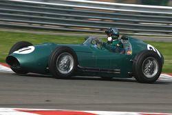 Hubert Fabri (B), Aston Martin DBR4, 1959, 2500cc