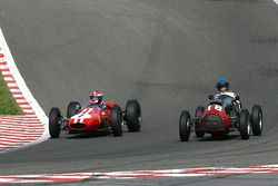 #1 John Harper (GB) Brabham BT4 ; #18 Mary Jonkers (B) Cooper Bristol Mk II