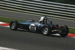 #100 Michael Grant Petrekin (GB) Brabham BT21, 1967, 1600cc