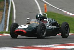 Race over; #7 Nick Eden (GB) Cooper T45, 1958, 2000cc