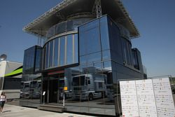 Force India motorhome