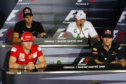 Conferencia de prensa FIA: Kimi Raikkonen, Scuderia Ferrari, Jaime Alguersuari, Scuderia Toro Rosso,