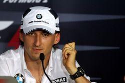 Conferencia de prensa FIA: Robert Kubica, BMW Sauber F1 Team