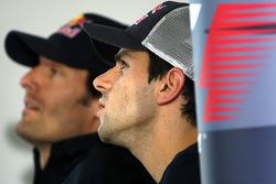 FIA press conference: Mark Webber, Red Bull Racing, Jaime Alguersuari, Scuderia Toro Rosso