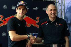 Jaime Alguersuari, Scuderia Toro Rosso, Franz Tost, Scuderia Toro Rosso, Director del equipo