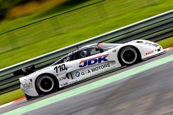 #110 Guino Kenis G&A Racing Mosler MT 900: Guino Kenis, Michael Dekeersmaecker, Patrick Smets, Joël