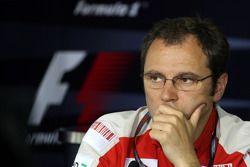 Conférence de presse de la FIA : Stefano Domenicali, directeur sportif de la Scuderia Ferrari