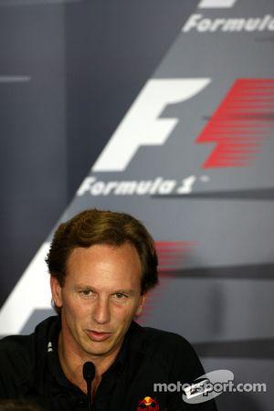 Conférence de presse FIA : Christian Horner, directeur général de Red Bull Racing
