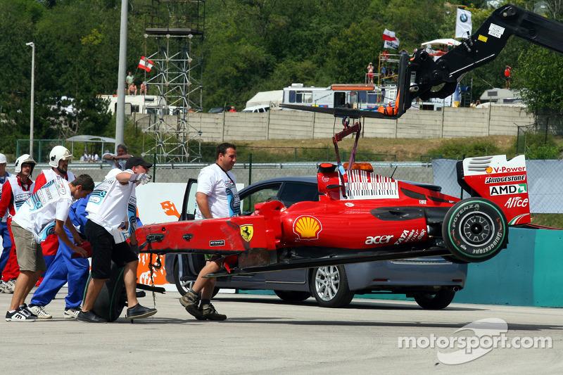 Felipe Massa: Grand Prix von Ungarn 2009 in Budapest
