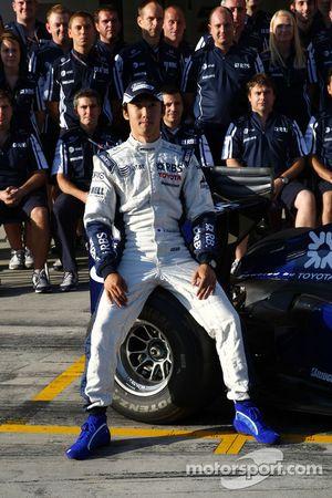 Foto del equipo WilliamsF1, Kazuki Nakajima, Williams F1 Team