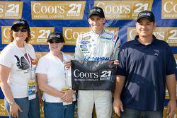 Colin Braun, vainqueur de la pole position