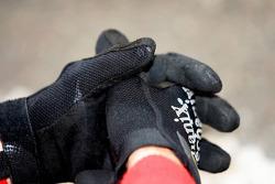 A mechanics gloves