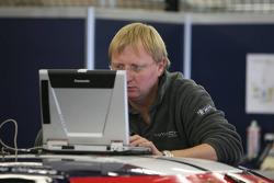 Data engineer at work