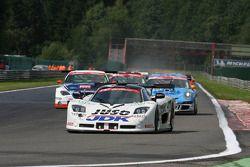 #110 Guino Kenis G&A Racing Mosler MT 900: Guino Kenis, Michael Dekeersmaecker, Patrick Smets, Joël Schuybroeck