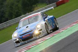 #124 Mühlner Motorsport Porsche 911 GT3 Cup S: Jürgen Häring, Dimitrios Konstantinou, Achim Dürr, Re