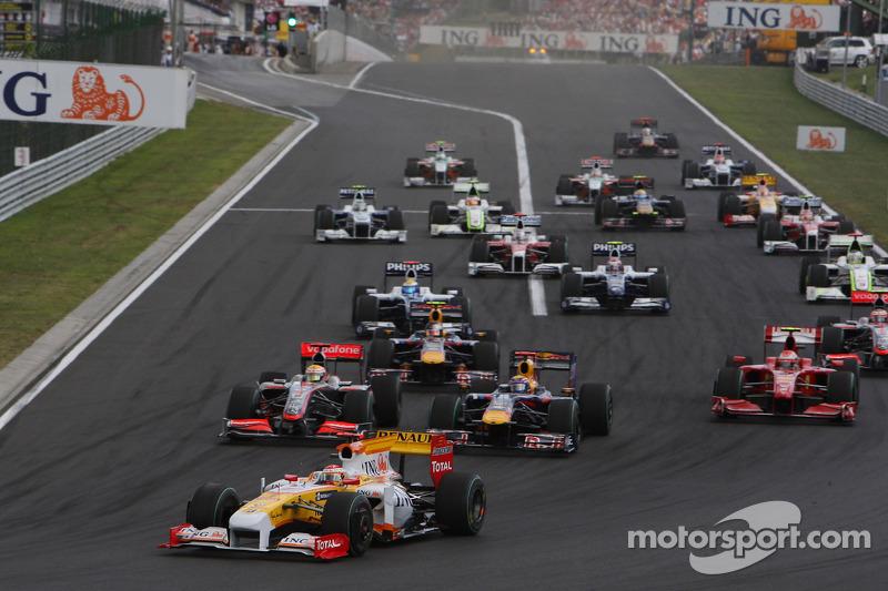 Inicio: Fernando Alonso, Renault F1 Team lidera al grupo