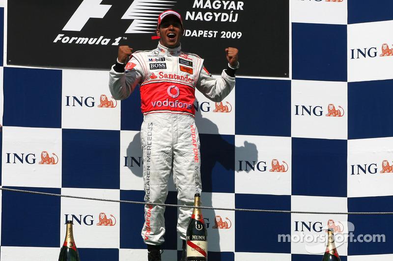 Budapeste - Lewis Hamilton - 6 triunfos