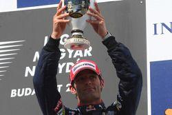 Podio: tercer lugar Mark Webber