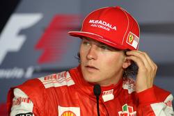 Post-race press conference: second place Kimi Raikkonen, Scuderia Ferrari