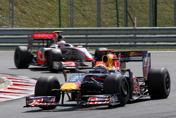 Mark Webber, Red Bull Racing, Heikki Kovalainen, McLaren Mercedes